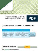 Gerente y Etica Empresarial