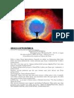 GRAÇA ASTRONÔMICA Breve Noção Da Grnadiosidade de Deus