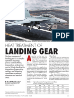 Article - Heat Treatment of Landing Gear