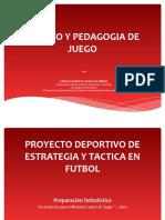 0 Proyecto Deportivo de Estrategia y Tactica en Futbol