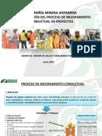 Mejoraminto Conductal en Proyectos ISEM