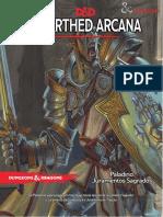 D_D 5E - Unearthed Arcana - Paladino - Juramentos Sagrados - Biblioteca Élfica