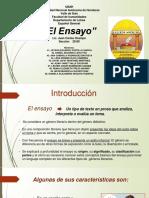 El Ensayo Presentacion Version 2