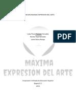 Fundacion Maxima Planeacion Del Arte