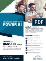 Power BI Full Programme Agenda