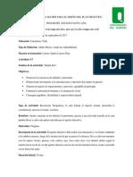 Estructura Matriz Para El Diseño Del Plan Didáctico