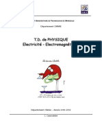 Physique GeneraleTD