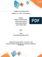 Fundamentos de Macroeconomia. Actividad Final . UNAD