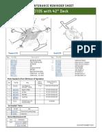Fb Maint D105 42 Deck
