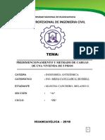 reglamento E-030 trabajo antisismica