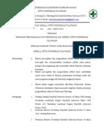 Sk Pedoman Pencegan Infeksi