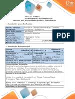 Guía de Actividades y Rúbrica de Evaluación - Fase 1 - Analizar Información Previa