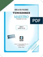 Libro Vencednores Maestrmos 6 a 8 Años