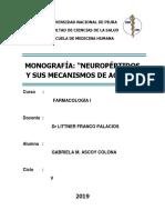 MONOGRAFÍA NEUROPÉPTIDOS 2019