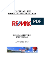 Reglamento Interno Remax