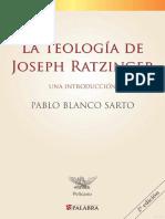Ratzinger, La Teologia de - Palabra-B.pdf