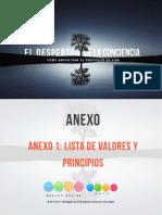 Anexo 1.Valores y Principios