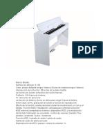 Descripcion Piano S182