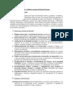 Políticas de Estado y Políticas Sociales Del Estado Peruano