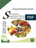 plan seguridad alimentaria