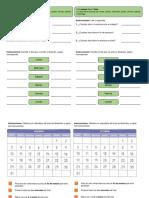 Material - Fichas - Calendario