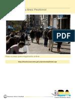 Instructivo Areas Peatonales Personas Con Movilidad Reducida