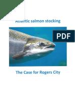 Rogers City's Atlantic salmon proposal