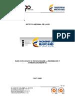 Plan Estrategicos de tecnologia de la información y Comunicaciones.pdf