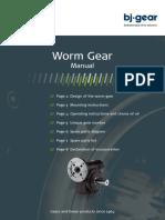 Wormgear Manual Uk