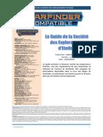 Le Guide de La Société Des Explorateurs d'Etoiles