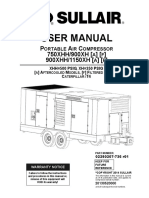 Sullair 900 1150 User Manual