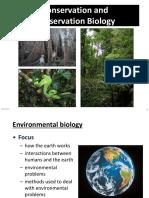 Evironmental Biology