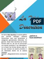 Apunte 3 La Tilde Diacritica