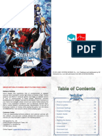 BlazBlue Calamity Trigger Manual