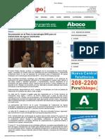 Se Presentó en El Perú La Tecnología DHS