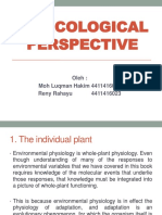 an Ecological Perspective