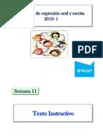 Teoe- 11 Texto Instructivo