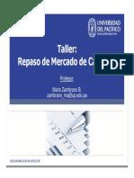 REPASO DE MERCADO DE CAPITAL
