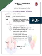 Informe de Marcha de Eter Química Orgánica Práctica n 5 Lucero Garcia (1)