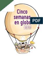 5 Semanas en Globo Libro