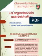 La Organización Administrativaaa