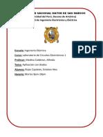 Informe 1 Circuitos Electronicos 1