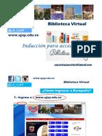 Presentacion Biblioteca Virtual