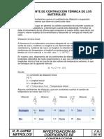 Coeficiente de Dilatacion Termica