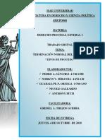 Tipos de Procesos en Panamá