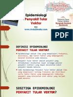 Epidemiologi Penyakit Tular Vektor