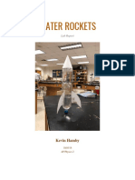 water rocket lab report