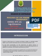 DIAPOSITIVAS ECUACION DE LA CONTINUIDAD.pptx