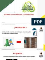 Desarrollo Sostenible en La Construccion