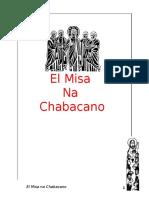 El Misa Na Chabacano